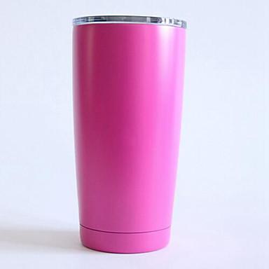 Rustfritt Stål Reisekrus Dekorasjon kjæreste gave 1 Kaffe Te Vand Juice Drikkeglas