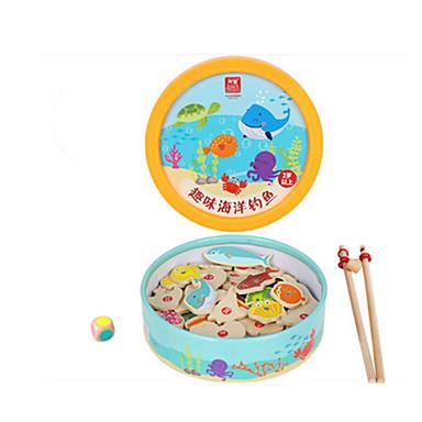 Magnetiske leker fiske Toys Fisk Tegneserie Originale 39 pcs Barne Gutt Jente Leketøy Gave
