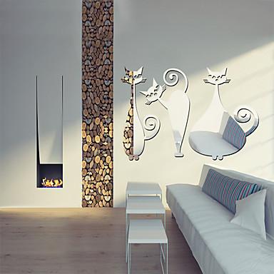 49d4520d90 Καθρέφτες Σχήματα Αφηρημένο Αυτοκολλητα ΤΟΙΧΟΥ Κρυστάλλινα αυτοκόλλητα  τοίχου Αυτοκόλλητα Τοίχου Καθρέφτης Διακοσμητικά αυτοκόλλητα τοίχου