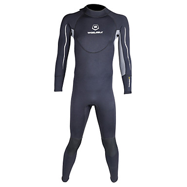 WINMAX Men's 3mm Full Wetsuit Waterproof Thermal / Warm Quick Dry Insulated Breathable Compression Neoprene Diving Suit Long Sleeves