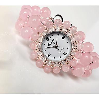 baratos Relógios Senhora-Mulheres Relógio de Moda Quartzo Verde caçador Rosa Analógico Rosa claro