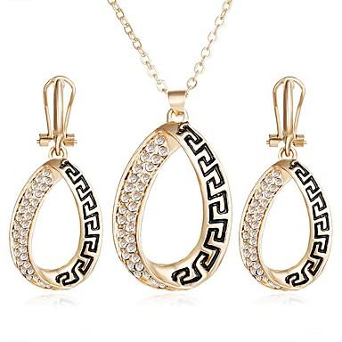 Mulheres Conjunto de jóias - Original Incluir Dourado Para Festa / Casual