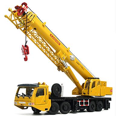 Guindaste Caminhões & Veículos de Construção Civil Carros de Brinquedo 01:50 Liga de Metal Metal Unisexo Crianças Brinquedos Dom