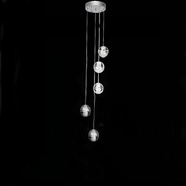 5-luz Grupo Luzes Pingente Luz Ambiente - LED, 110-120V / 220-240V Lâmpada Incluída / G4 / 15-20㎡