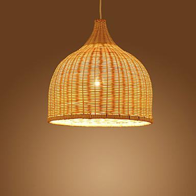 Japanski Bambus Ratan Stolic Svjetiljke 1 Light Blagovaonica Dnevni