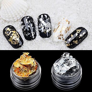 povoljno Naljepnice za nokte-2 pcs Moda Nail Art Design Dnevno