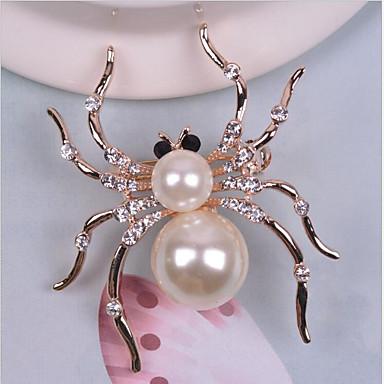 Mulheres Broches - Animal Broche Branco Para Casamento / Festa / Halloween