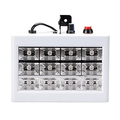 U'King 15 W أضواء LED مسرح قابل للتعديل / سهولة التثبيت / مفعل بالصوت أبيض كول 110-240 V / قطعة / بنفايات / CE / FCC