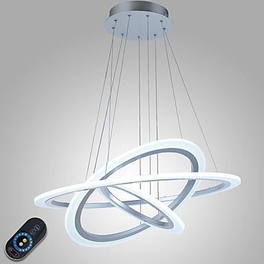 Luzes Pingente Luz Ambiente - Regulável, LED, Dimmable Com Controle Remoto, 110-120V / 220-240V Fonte de luz LED incluída / 15-20㎡