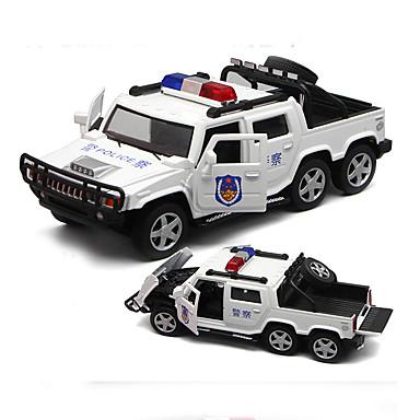 Carros de Brinquedo Modelo de Automóvel Carro de Polícia Simulação Para Meninos
