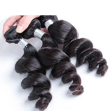 최고 등급 페루 느슨한 곱슬 물결 모양의 머리, 처녀 페루 머리 확장
