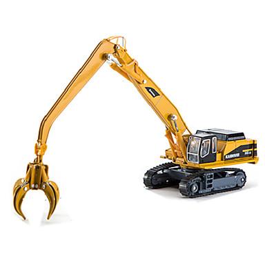 شاحنة إعادة تدوير القمامة لعبة الشاحنات ومركبات البناء لعبة سيارات سيارة طراز 01:50 محاكاة بلاستيك للأطفال للصبيان للفتيات ألعاب هدية