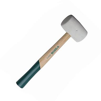 Sata von Holzgriff weißer Plastikhammer 1 Pfund