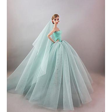 파티/이브닝 드레스 에 대한 바비 인형 에 대한 여자의 인형 장난감