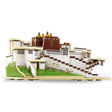 3D퍼즐 직쏘 퍼즐 나무 모델 조립 완구 키트 유명한 빌딩 건축 3D 재미 나무 클래식