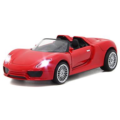 Carros de Brinquedo Carro de Corrida Carro Carrinhos de Fricção Música e luz Unisexo