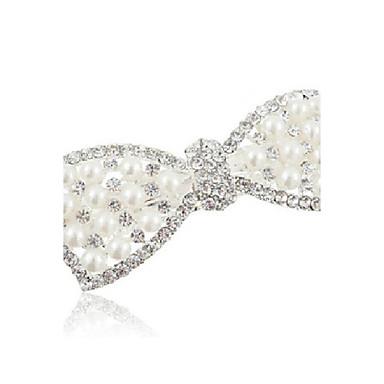모조 진주 모조 다이아몬드 합금 머리 장식 우아한 스타일