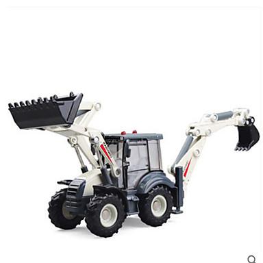 KDW Veiculo de Construção Pás-Carregadeiras de Rodas Caminhões & Veículos de Construção Civil Carros de Brinquedo Plástico Brinquedos Dom