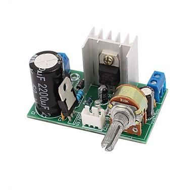 lm317 امدادات الطاقة متن لوحة مع حماية 1.25v-37v 1.5a المستمر تعديل دس الجهد المنظم