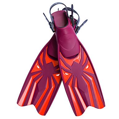 다이빙 지느러미 끈 조절 가능 긴 오리발 다이빙 에코 PC 혼합 재료