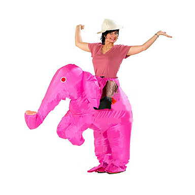 Elefante Fantasias de Cosplay Impermeável Fantasia Inflável Artigos de Halloween Cosplay de Filmes Collant / Pijama Macacão Ventilador