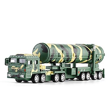 KDW Caminhão Veículo Militar Caminhão de mísseis Caminhões & Veículos de Construção Civil Carros de Brinquedo Modelo de Automóvel