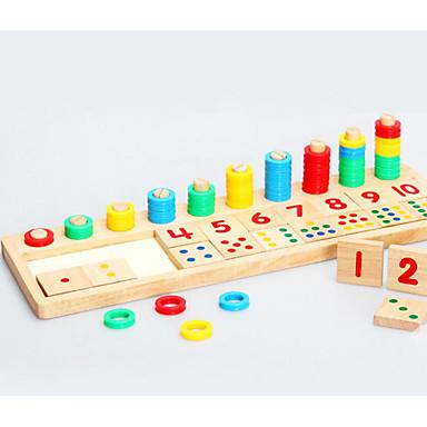 hesapli Oyuncaklar ve Oyunlar-Montessori Eğitim Araçları Legolar Matematik Oyuncakları Dörtgen Eğitim Genç Kız Genç Erkek Oyuncaklar Hediye