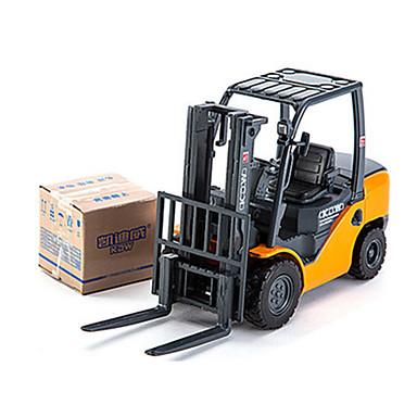 Veiculo de Construção Empilhadeira Caminhões & Veículos de Construção Civil Carros de Brinquedo 01:50 Metal Para Meninos Crianças