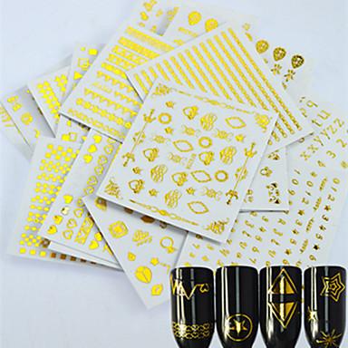 24 아트 스티커 네일 메이크업 화장품 아트 디자인 네일