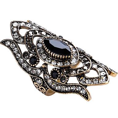 Χαμηλού Κόστους Μοδάτο Δαχτυλίδι-Γυναικεία Ζαφειρένιο Γεωμετρική Πασιέντζα Μαρκησία Δακτύλιος Δήλωσης Δαχτυλίδι δαχτυλίδι αντίχειρα Γυαλί Κράμα Μοντέρνο κυρίες Εξατομικευόμενο Ασιατικό Πολυτέλεια Μοναδικό Μοδάτο Δαχτυλίδι Κοσμήματα