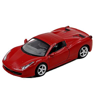 ALLOY METAL Carros de Brinquedo Modelo de Automóvel Carro de Corrida Brinquedos Simulação Música e luz Carro Metal Liga metálica Peças