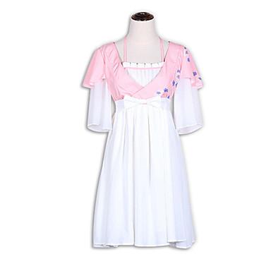 Jednodílné/Šaty Sweet Lolita Lolita Cosplay Lolita šaty Módní Krátký rukáv Krátký / Mini Šaty Pro