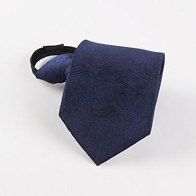 Herrenmode koreanisches dunkelblaues Muster faul Business Mann Krawatte