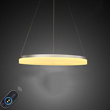 Luzes Pingente Luz Ambiente - Regulável, LED, Dimmable Com Controle Remoto, 110-120V / 220-240V, Dimmable Com Controle Remoto, Fonte de