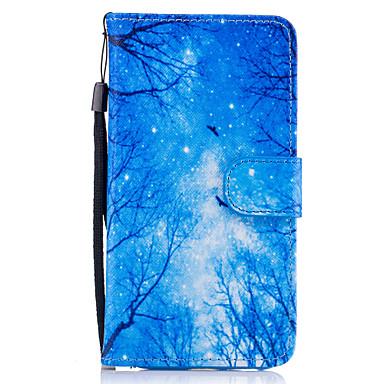 Capinha Para Samsung Galaxy A5(2017) / A3(2017) Carteira / Porta-Cartão / Com Suporte Capa Proteção Completa Árvore Rígida PU Leather para A3 (2017) / A5 (2017) / A5(2016)