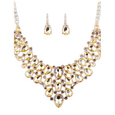 Dámské Sady šperků imitace drahokamu Módní Euramerican Svatební Párty Denní Ležérní Slitina Ostatní Küpeler Náhrdelníky