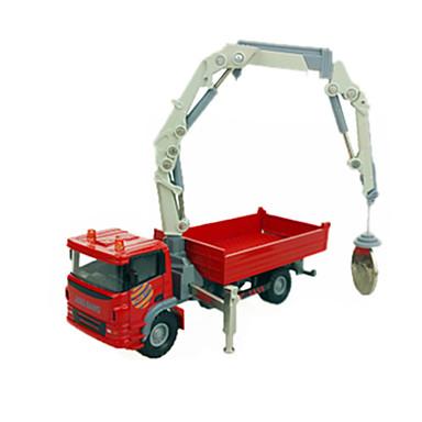 Caminhões & Veículos de Construção Civil Carros de Brinquedo 1:60 ABS Metal Borracha Unisexo Crianças Brinquedos Dom