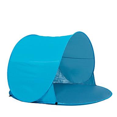 COME 2 사람 텐트 비치 텐트 싱글 캠핑 텐트 원 룸 텐트 팝업 휴대용 자외선 방지 용 캠핑 여행 유리섬유 CM