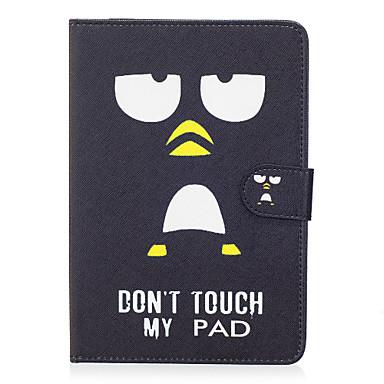 Capinha Para Apple iPad Mini 4 iPad Mini 3/2/1 Porta-Cartão Carteira Com Suporte Flip Magnética Estampada Capa Proteção Completa Palavra