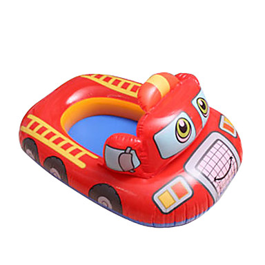 Circular Carro Anéis de natação Pula-Pula Infláveis PVC Crianças
