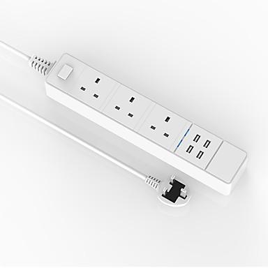 USB 충전기 데스크 충전기 USB 포트 포함 영국 충전 어댑터