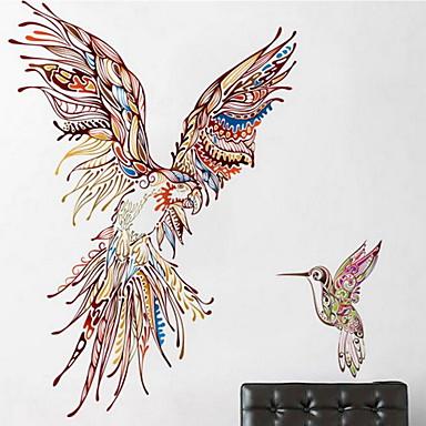 Leisure 벽 스티커 플레인 월스티커 데코레이티브 월 스티커, 비닐 홈 장식 벽 데칼 벽
