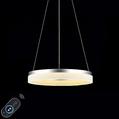 Luzes Pingente Luz Ambiente Acabamentos Pintados Metal Acrílico Regulável, LED, Dimmable Com Controle Remoto 110-120V / 220-240V Dimmable Com Controle Remoto Fonte de luz LED incluída / Led Integrado