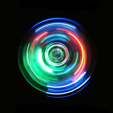 فيدجيت سبينر اليد سبينر سرعة عالية كريستال إضاءة إضاءةLED يخفف أد، أدهد، والقلق والتوحد مكتب مكتب اللعب التركيز لعبة التوتر والقلق