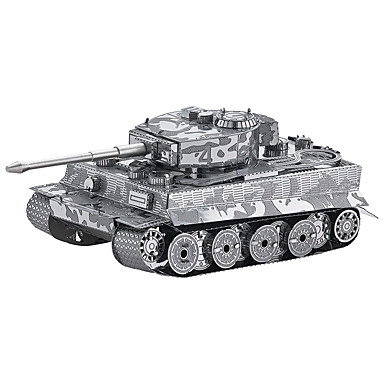 3D - Puzzle Modellbausätze Spielzeuge Panzer 3D Heimwerken Metalllegierung Metal Unisex Stücke