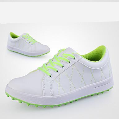 Sapatos Casuais Sapatos para Golf Mulheres Anti-Escorregar Anti-Shake Almofadado Prova-de-Água Anti-desgaste Espetáculo Borracha Equitação