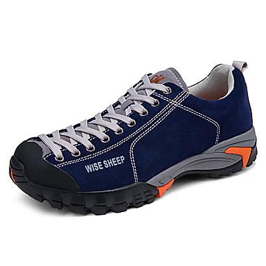 Hombre Zapatillas de deporte / Zapatillas de Senderismo / Zapatos de Montañismo Goma Senderismo / Escalada / Excursionismo Impermeable, A prueba de resbalones, Anti-Shake Goma / Cuero Nobuck / Cuero