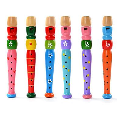 ألعاب تربوية أسطواني خشب آلات موسقية آلعاب للأطفال للجنسين هدية
