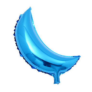 voordelige Ballonnen-Ballonnen MOON Feest Opblaasbaar Groot formaat Aluminium Unisex Speeltjes Geschenk