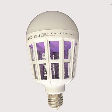 15W 120 lm E27 LED kulaté žárovky lED diody Bílá AC85-265 AC 220-240V